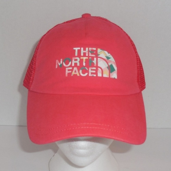 a8814a18c1e The North Face Womens Snapback Trucker Hat Coral